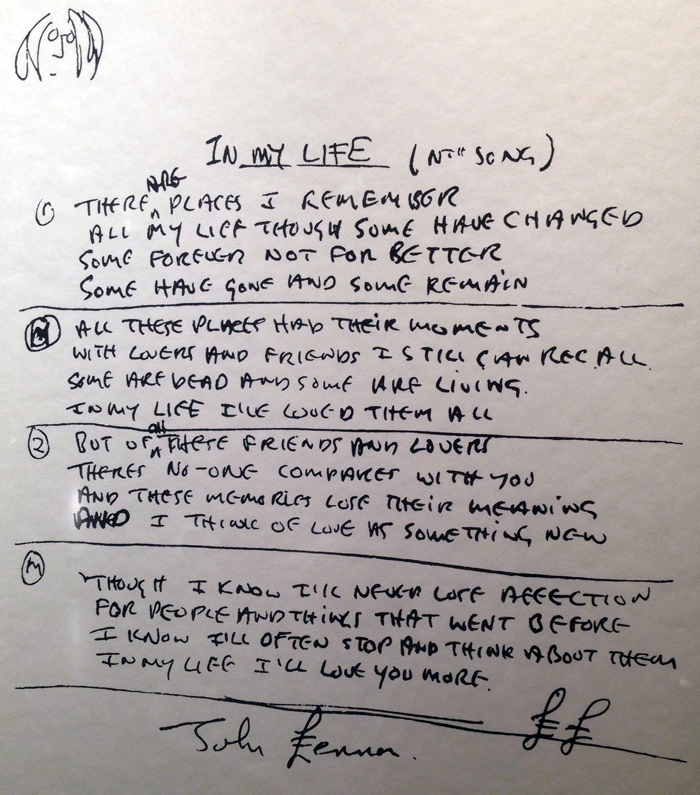 lennon lyrics